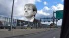 Slogans gegen eSports auf Basler Wänden: Manche Fans bekunden Unmut über die Marketing-Strategien von Bernhard Burgener.