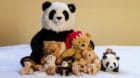 A family of teddy bears