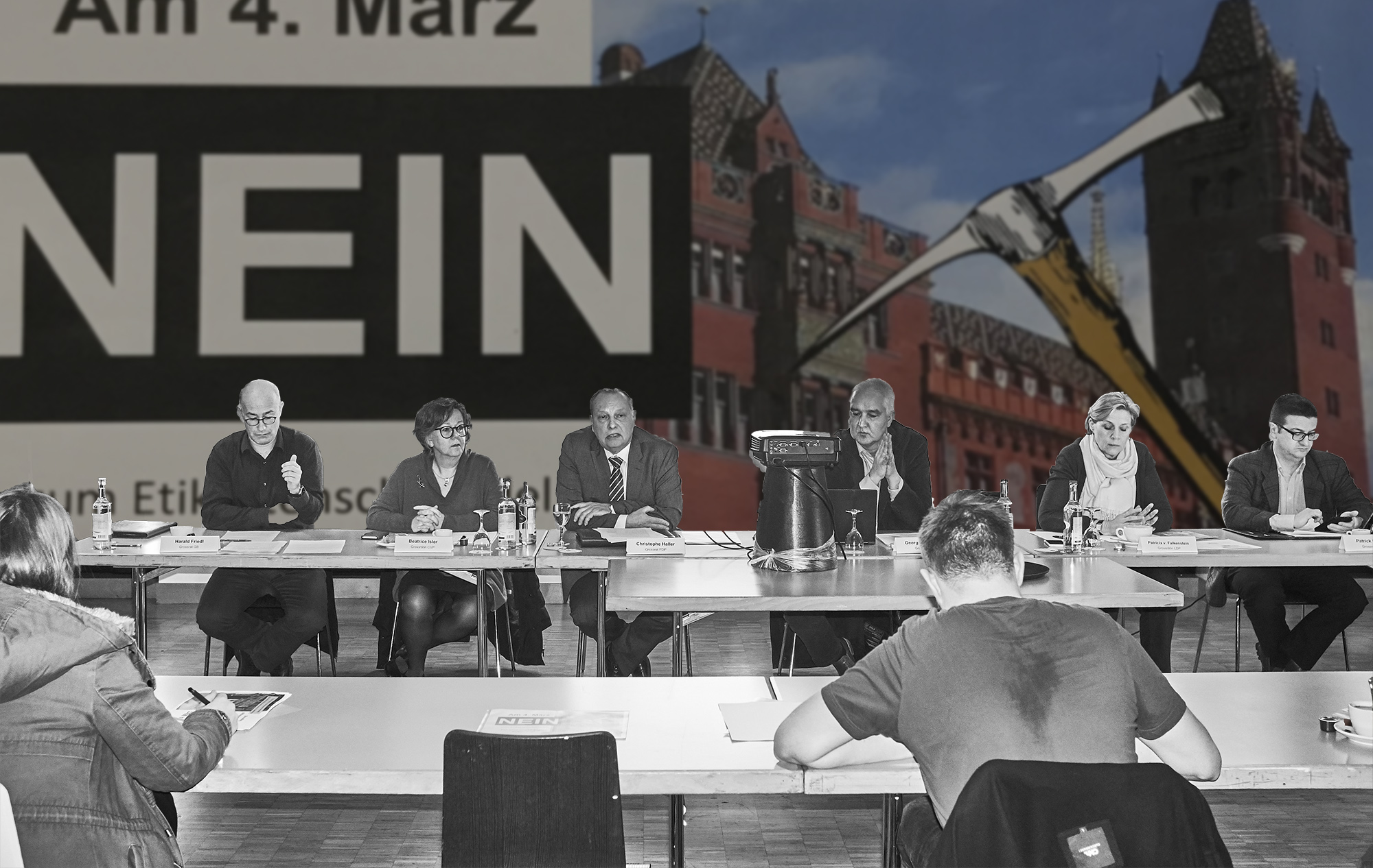 Von Friedl bis Hafner: Das Gegenkomitee zur Ruhegehaltsinitiative hat sich formiert.