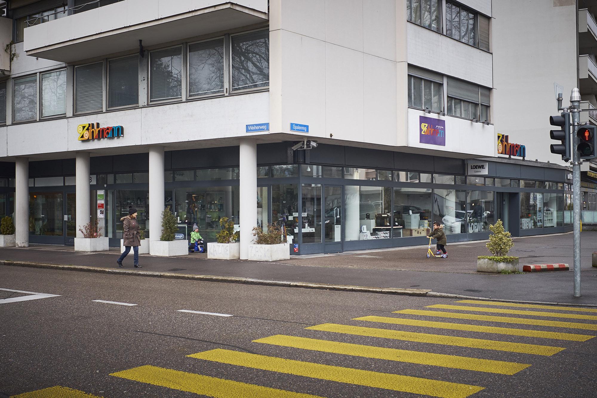 Die Zihlmann-Filiale am Spalenring bleibt wohl für immer geschlossen.