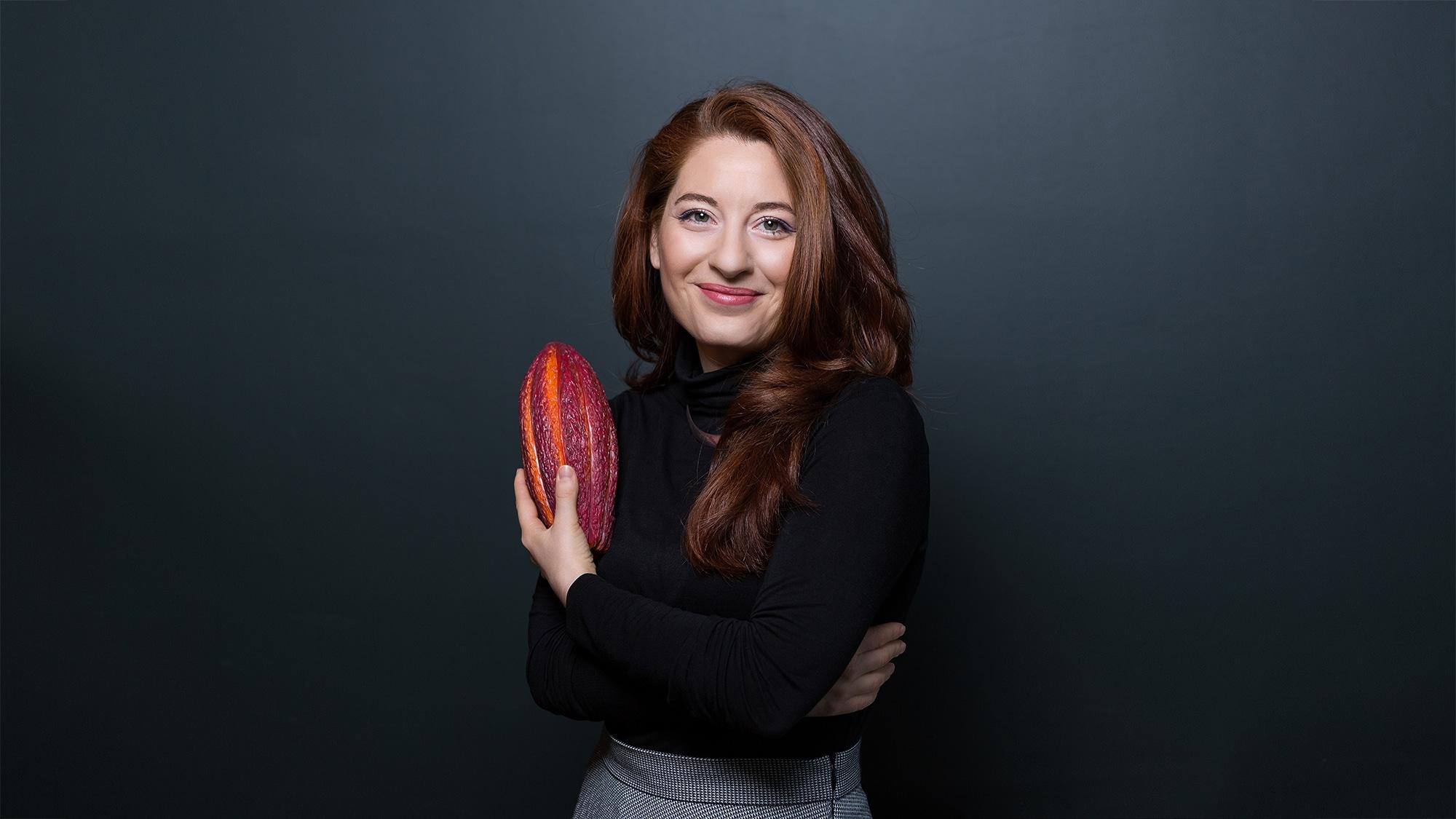 Diese Frau weiss, wo die wirklich gute Schokolade herkommt: Stephanie Greiner.