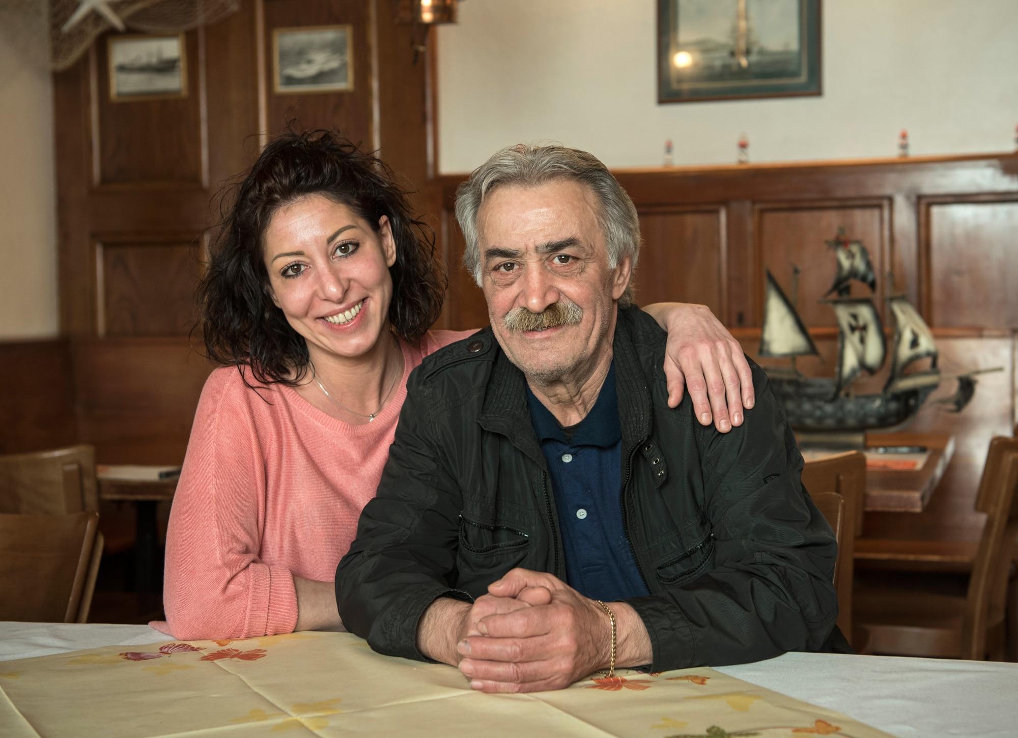 Patrizia Ponziani hat den Pachtbetrieb von ihrem Vater Dino Ponziani übernommen. Angepackt haben sie bis zuletzt beide.