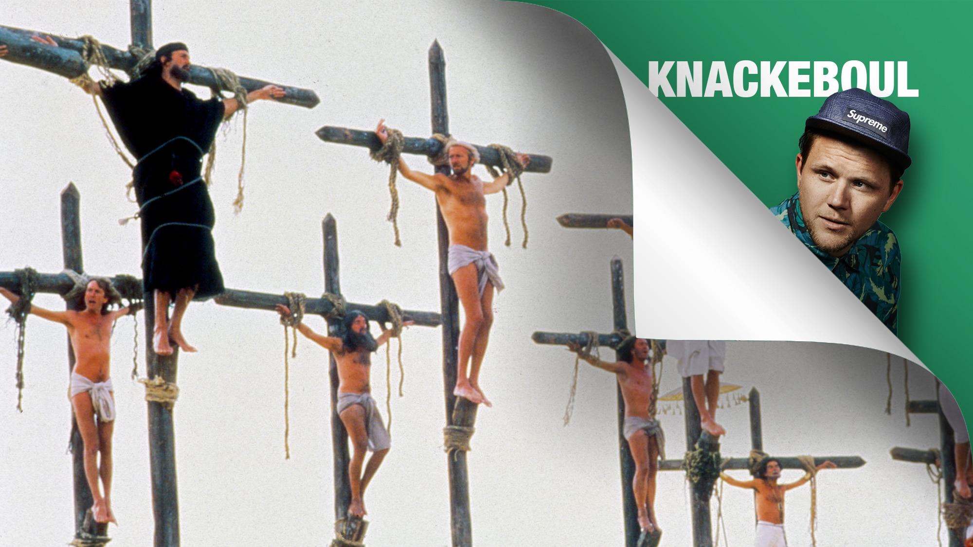 Am dritten Tage auferstanden von den Toten … ne, das war angeblich Jesus. Wir sehen hier Brian und seine Mitgekreuzigten.