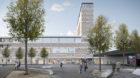 So wird der Neubau für das Naturhistorische Museum und das Staatsarchiv aussehen.
