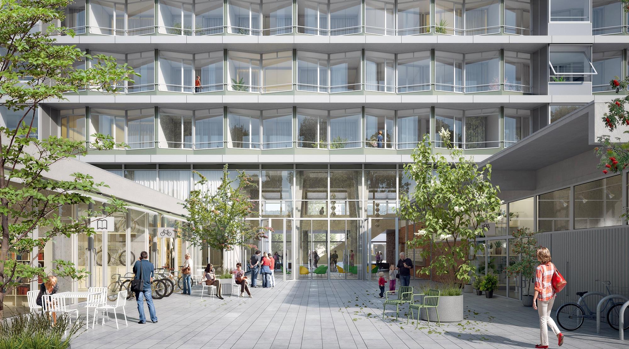 Aussen ändert sich nicht viel, innen aber sollen künftig unterschiedliche Wohnformen Platz finden.
