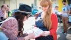 Start Berliner Mieten-Volksentscheid Start der Unterschriftensammlung f¸r einen Volksentscheid ¸ber soziales Wohnen: Am Sam