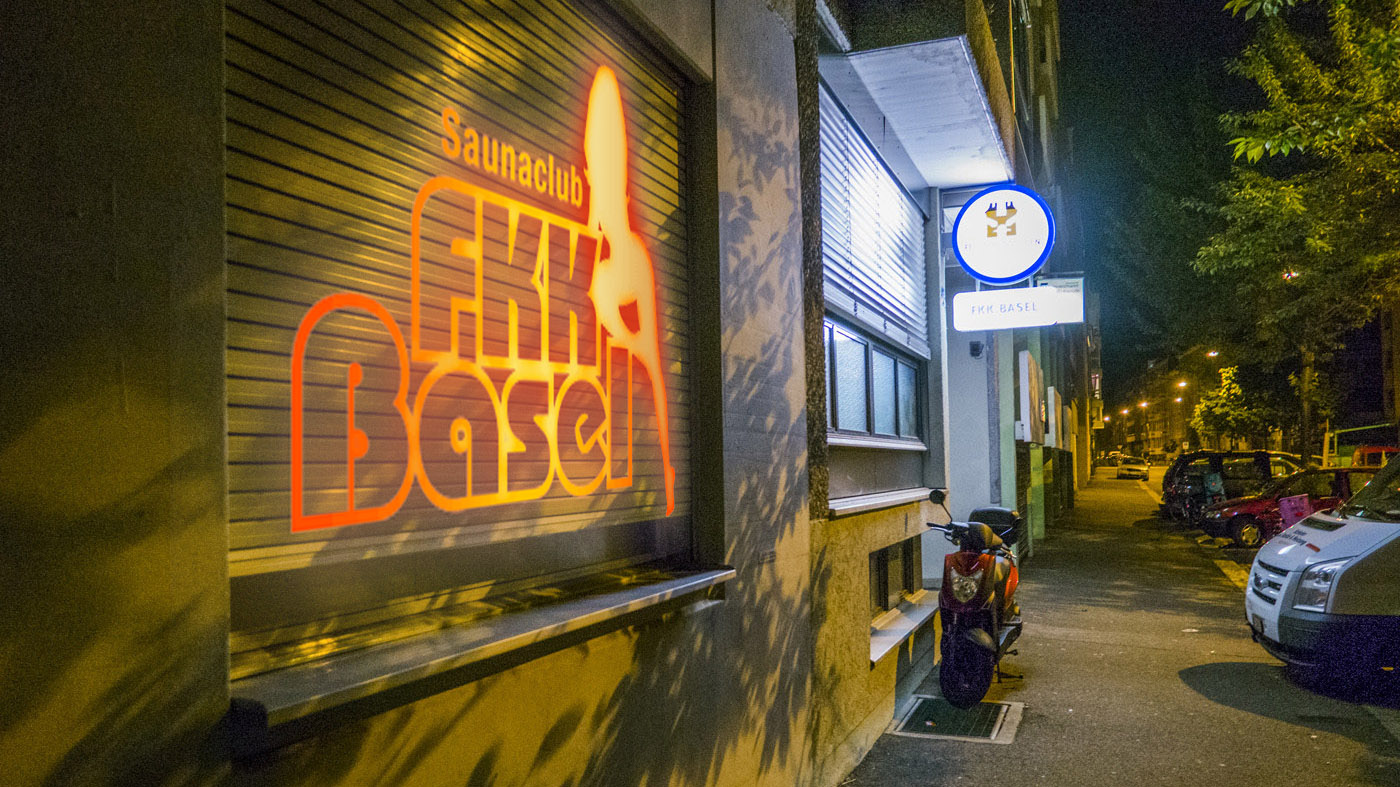 Seit Jahren wird an der Amerbachstrasse dieser Sexclub betrieben, ohne Bewilligung.