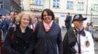 Die Präsidentinnen Corine Mauch und Elisabeth Ackermann führten den Zug an.