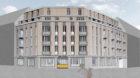 So soll das neue Wohnhaus am Lothringerplatz aussehen.
