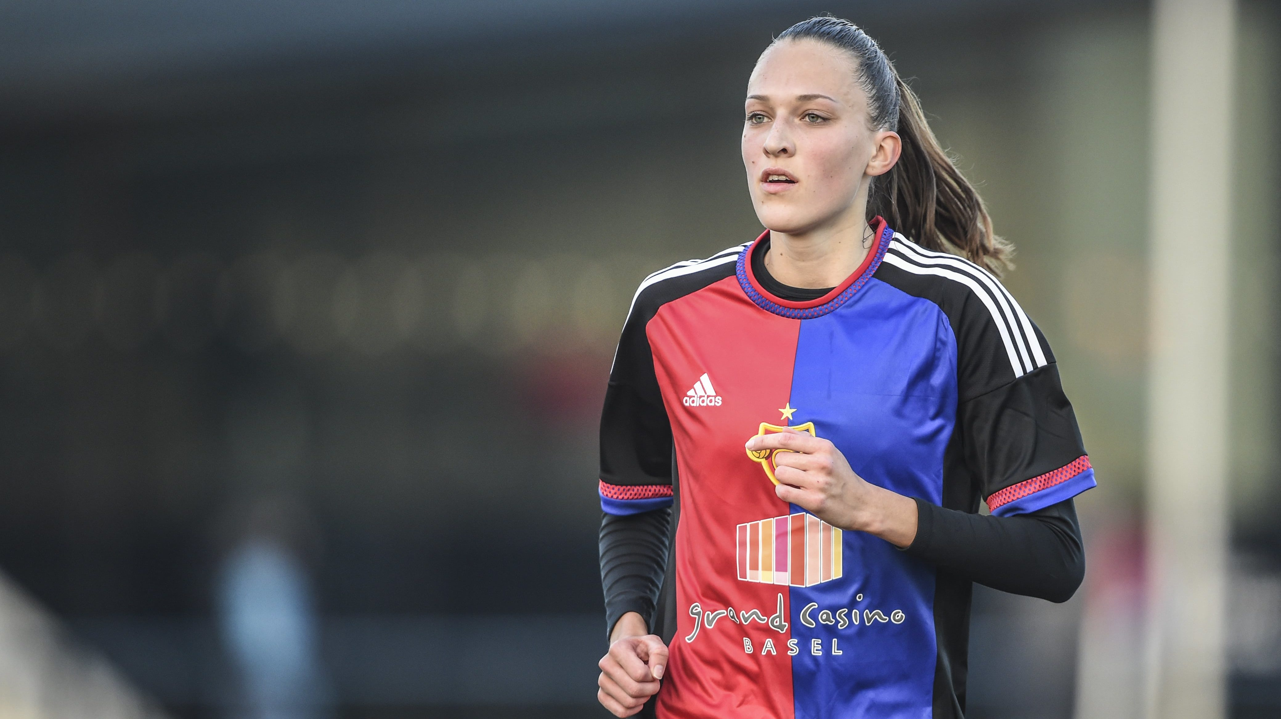 18.02.2017; Basel; Fussball NLA Frauen - FC Basel - FC Luzern;Jana Brunner (Basel) (Andy Mueller/freshfocus)