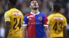 02.04.2018; Bern; Fussball Super League - BSC Young Boys - FC Basel;Albian Ajeti (Basel) nach verpasster Chance enttaeuscht