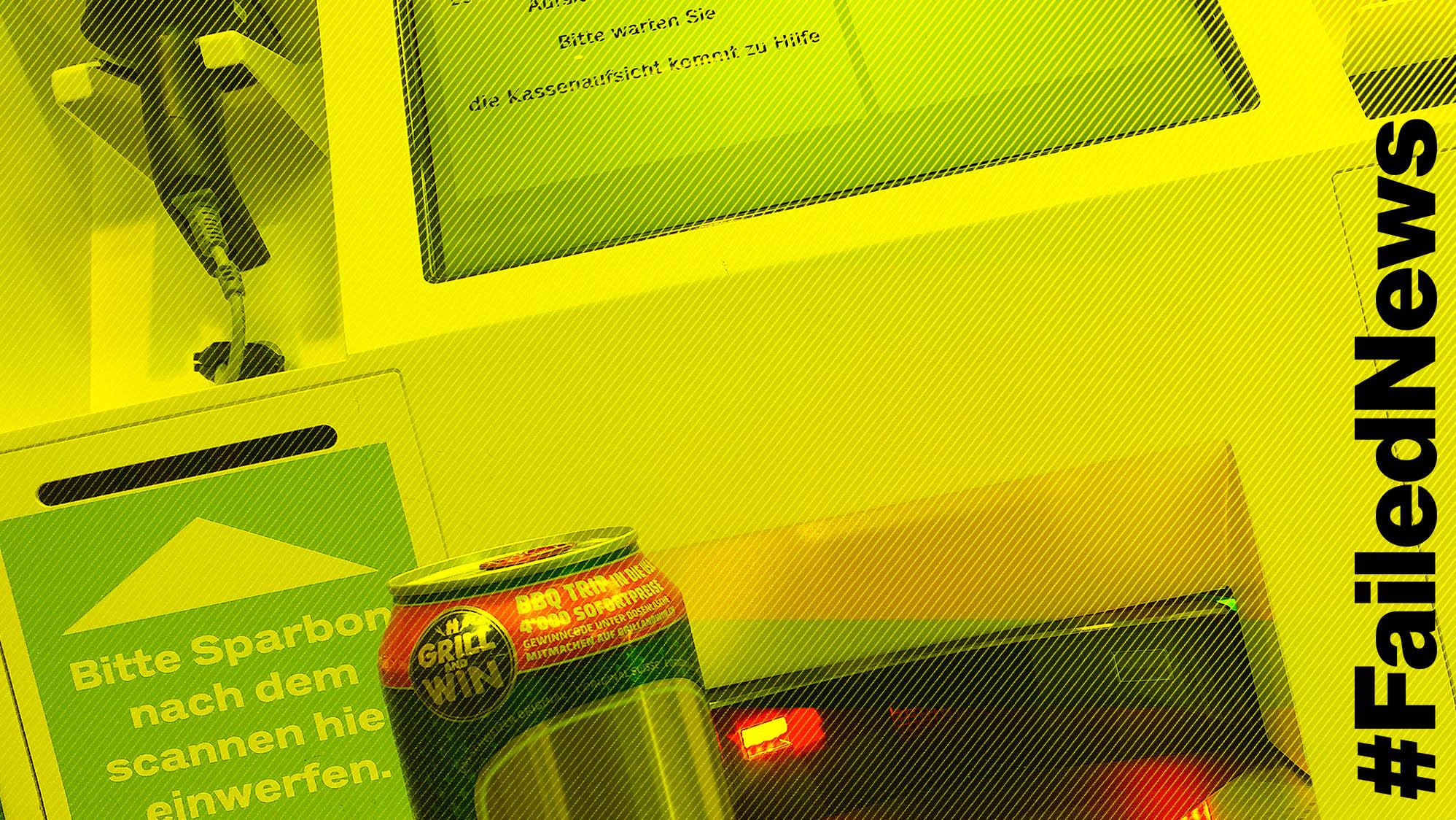 Welche Kasse kann schon  automatisch abschätzen, wie alt die Bierkäuferin ist?
