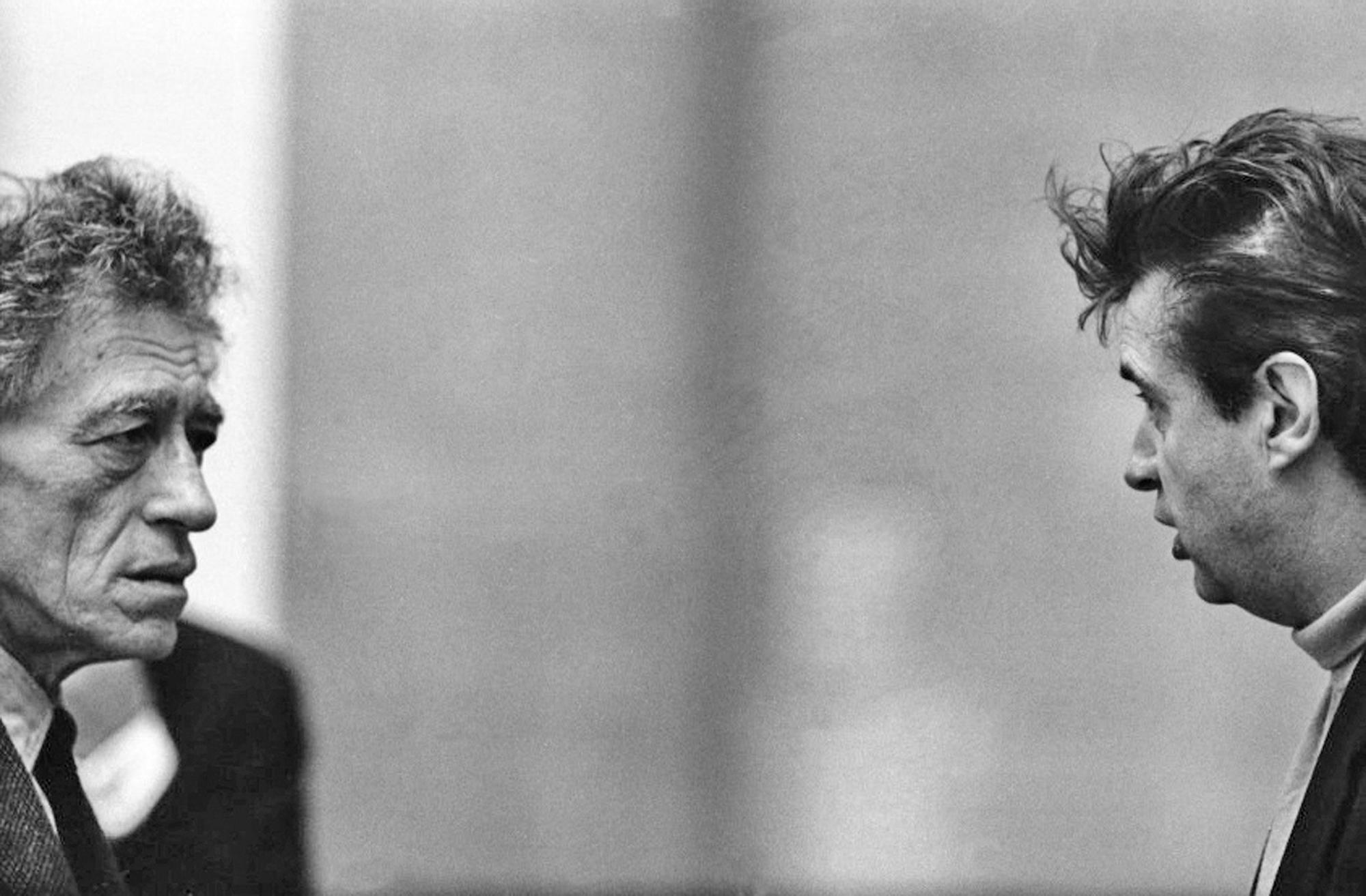 Alberto Giacometti und Francis Bacon begegnen sich: Nach Nähe sieht das nicht aus.