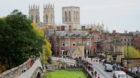 Ausblick über York, England