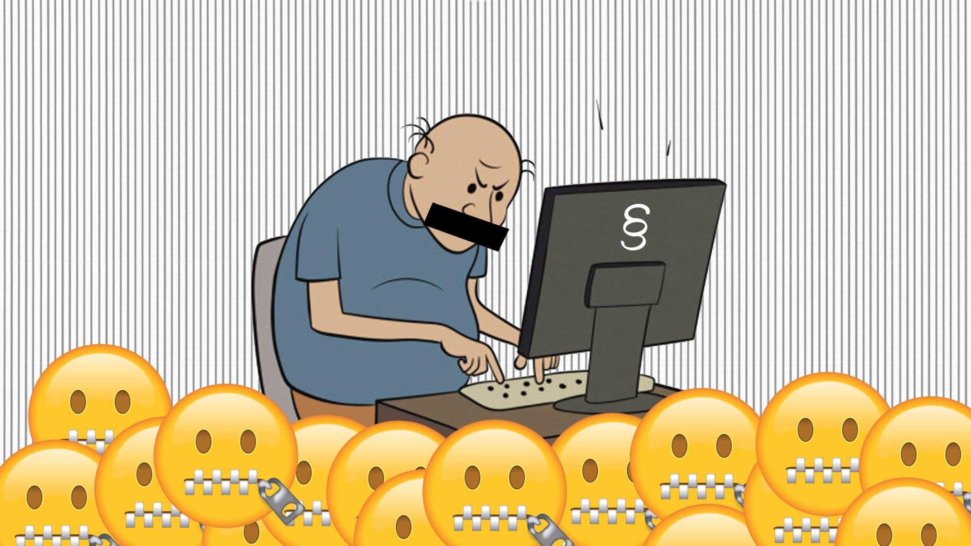 Löschen und schweigen: Der grösste Internethetzer der Schweiz wird vom Gericht zurechtgewiesen.