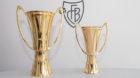 Das Original (links) für Bern, das Replikat als Erinnerung für den Trophäenschrank – der Pokal für den Schweizermeister