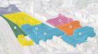 Nutzungszonen auf dem Lysbüchel-Areal laut Bebauungsplan des Kantons: A Gewerbe/Industrie, B und C Leises Gewerbe/Dienstleis