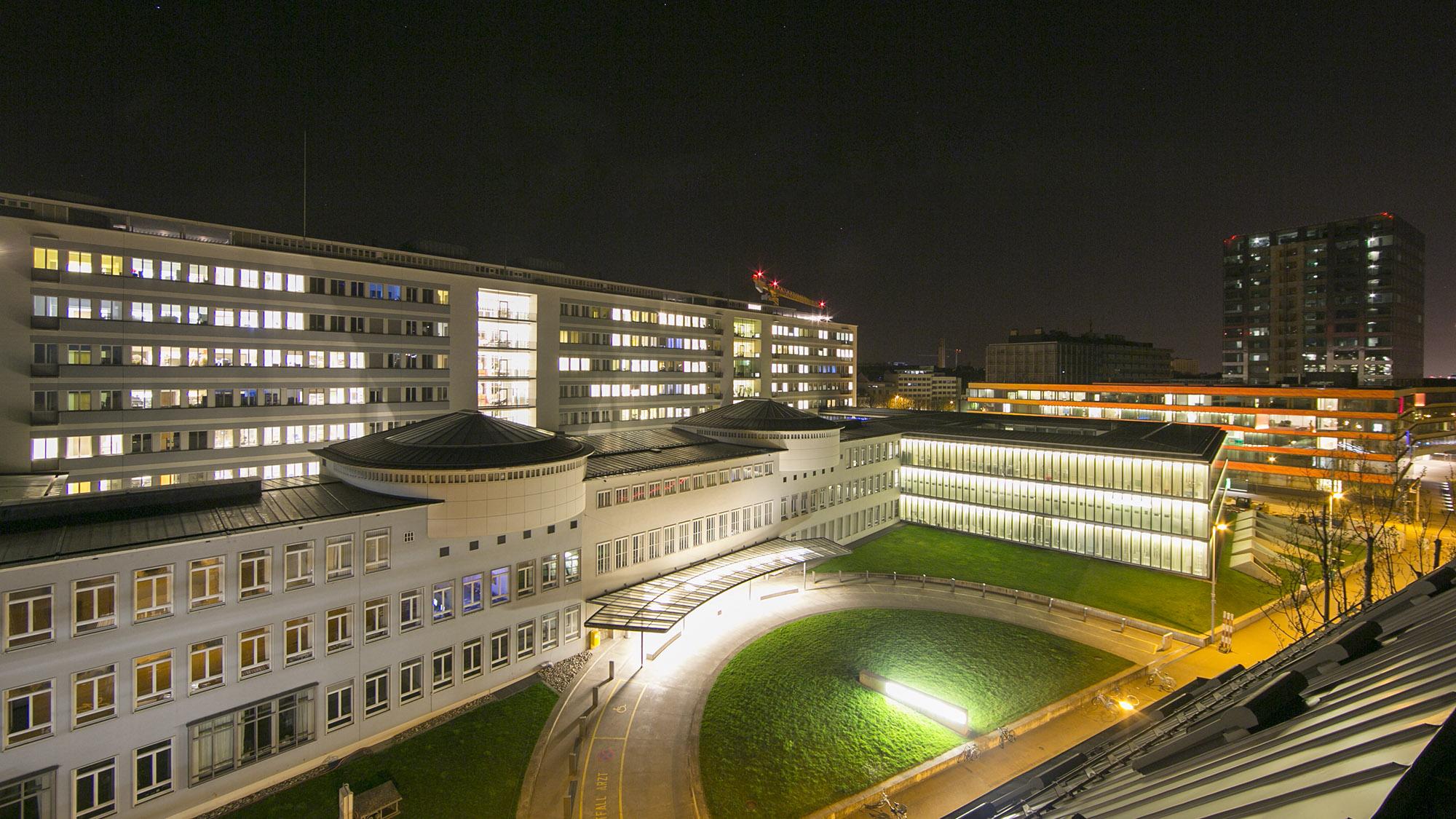 Viel Betrieb: das Uni-Spital Basel.