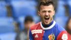 10.05.2018; Basel; Fussball Super League - FC Basel - BSC Young Boys ;Albian Ajeti (Basel) jubelt nach dem Tor zum 4:0 (Urs