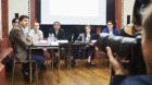 Gute Freunde: Eva Herzog hat sich mit acht Parteipräsidenten geeinigt.