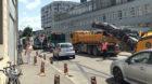 Sechs Buslinien und der ganze Verkehr aus dem St. Johann auf einer Spur: Das kann ja heiter werden.