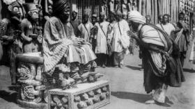 Zweifelhaftes «Geschenk»: Der Königsthron der Bamun ist heute im Besitz des Berliner Ethnologischen Museums.