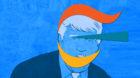 Ungemütliche Verwicklungen: Plötzlich steckt Novartis in den zahlreichen Affären von US-Präsident Donald Trump.