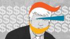 Trumps Anwalt erhielt reichlich Geld aus Basel: 1,2 Millionen Franken flossen an eine Scheinfirma von Michael Cohen.