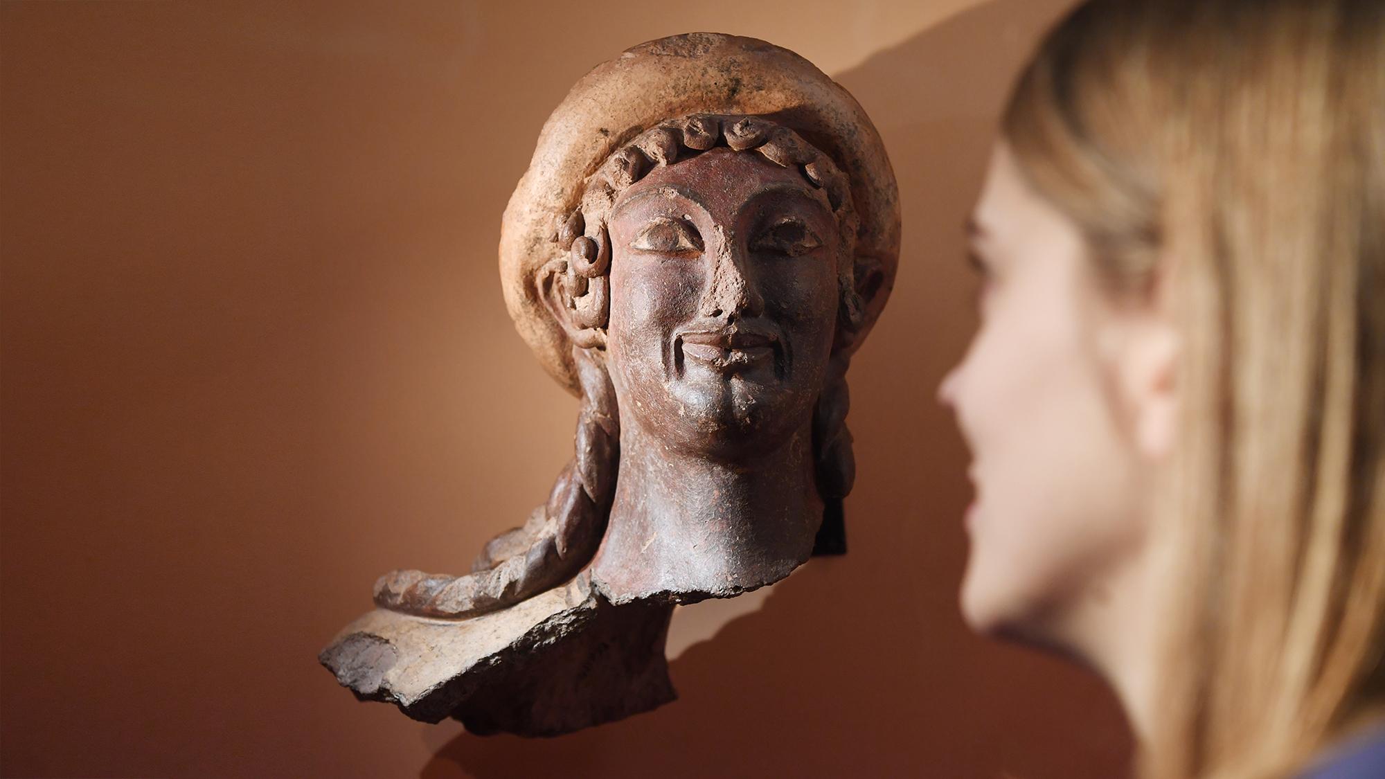 ARTIS-Uli Deck// 08.12.2017 Badisches Landesmuseum Karlsruhe, BLM, Ausstellung - Die Etrusker – Weltkultur im antiken Itali
