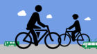 Der Veloverkehr nimmt zu, die Nutzung des Öffentlichen Verkehrs ab.
