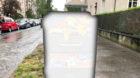 Der solarbetriebene Abfalleimer an der Mittleren Strasse wurde den Erwartungen nicht gerecht. Jetzt ist er weg.