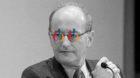 DAVOS/SWITZERLAND, 24JAN14 - Felix R. Ehrat, Global General Counsel Novartis, concentrates during the Open Forum 'The Secret