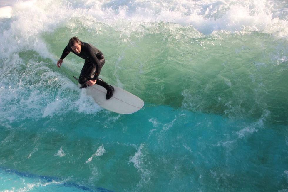 Surfer Rhein