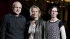 Das ausgezeichnete Festivalteam mit Martin Haug, Gunda Zeeb und Céline Wenger.
