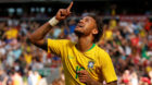 Soccer Football - International Friendly - Brazil vs Croatia - Anfield, Liverpool, Britain - June 3, 2018   Brazil's Neymar c