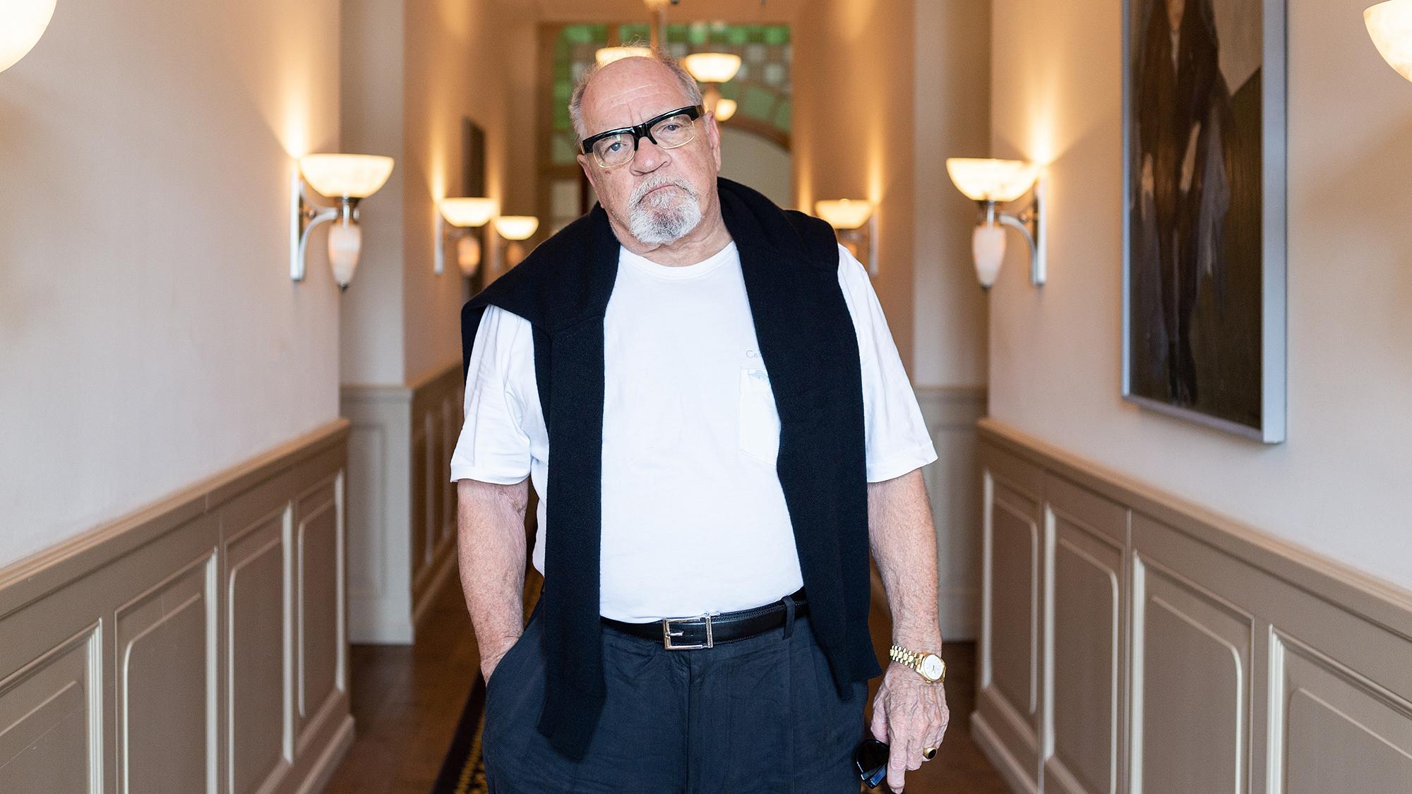 Drehbuchautor und Regisseur Paul Schrader im Hotel Trois Rois in Basel, 31. Mai 2018