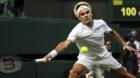 04.07.2017; London; Tennis - Wimbledon 2017; Roger Federer (SUI)(Han Yan/Zuma Sports Wire/freshfocus)