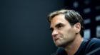 11.06.2018; Stuttgart; Tennis Stuttgart 2018 - Medienkonferenz;Roger Federer (SUI) (Urs Lindt/freshfocus)