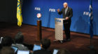 (GERMANY OUT)   Fussball International, FIFA Council Meeting PressekonferenzFIFA Council Meeting entscheidet die WM-Aufstock