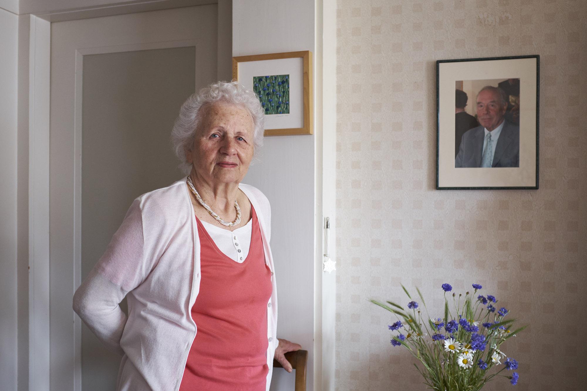 Seit 1964 lebt Elisabeth Diewald an der Wilhelm His-Strasse.
