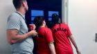 Sie ahnten, dass es schief geht: Die WM-Partie Schweiz–Serbien im serbischen Kulturverein Kikac.