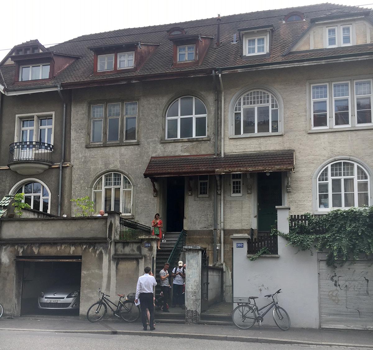 Das Haus an der Gundeldingerstrasse 394 wurde 1906 erstellt.