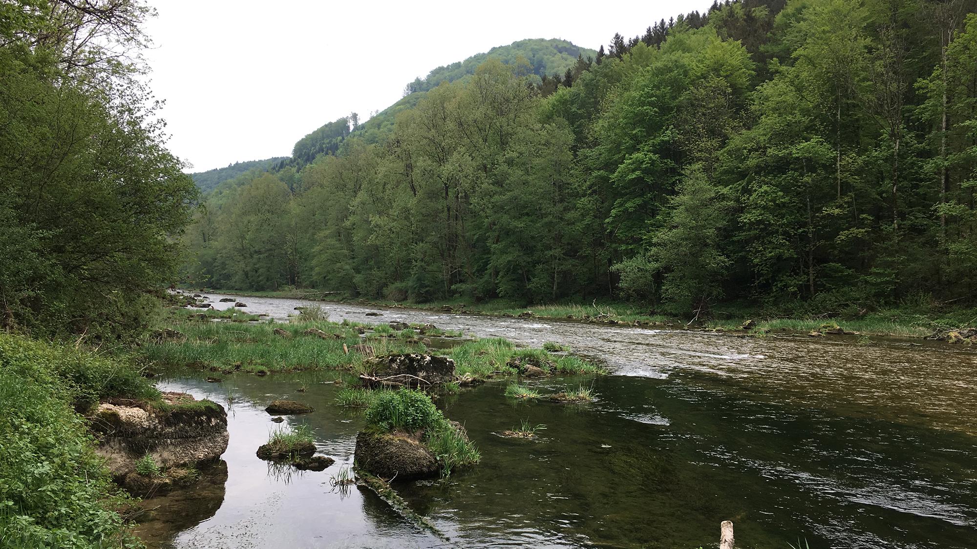 Der Doubs bietet keine alpinistische Herausforderung, dafür eine Augenweide.