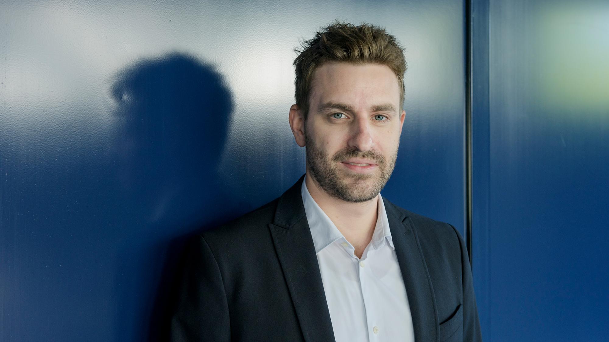 Philipp Schär, Rechtsanwalt bei Fortuna Investment AG, einer Tochtergesellschaft der Generali (Schweiz Holding AG, am Dienst