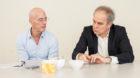 Ab 31. Juli emeritierte Professoren: die Architekten Jacques Herzog (links) und Pierre de Meuron.