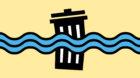 Mülltrennung bleibt am Rhein ein ungelöstes Problem.