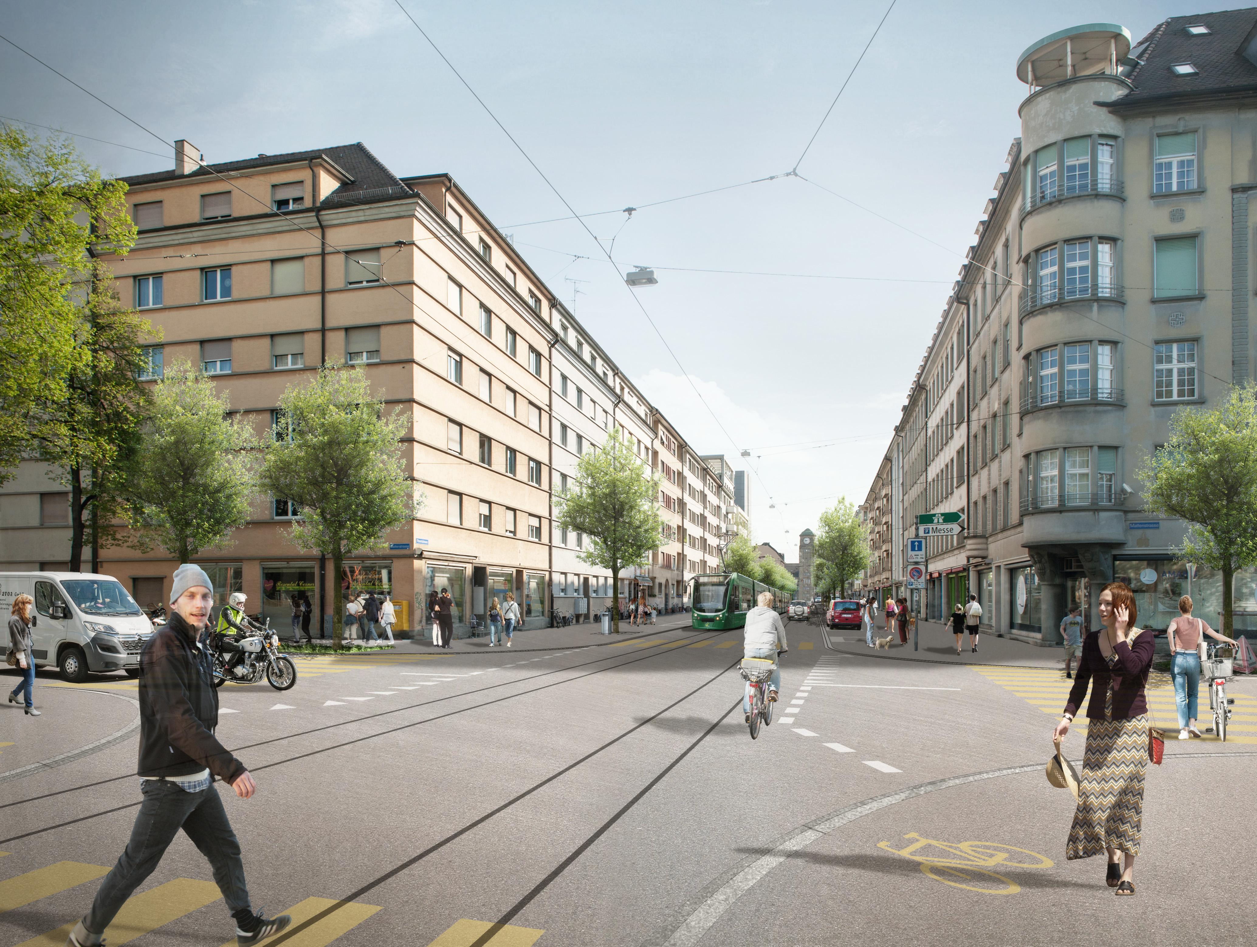 Die Bauarbeiten beginnen am 2. Juli – mit Leitungsbau und ersten Gleis- sowie Strassenbauarbeiten – und dauern bis Juni 2