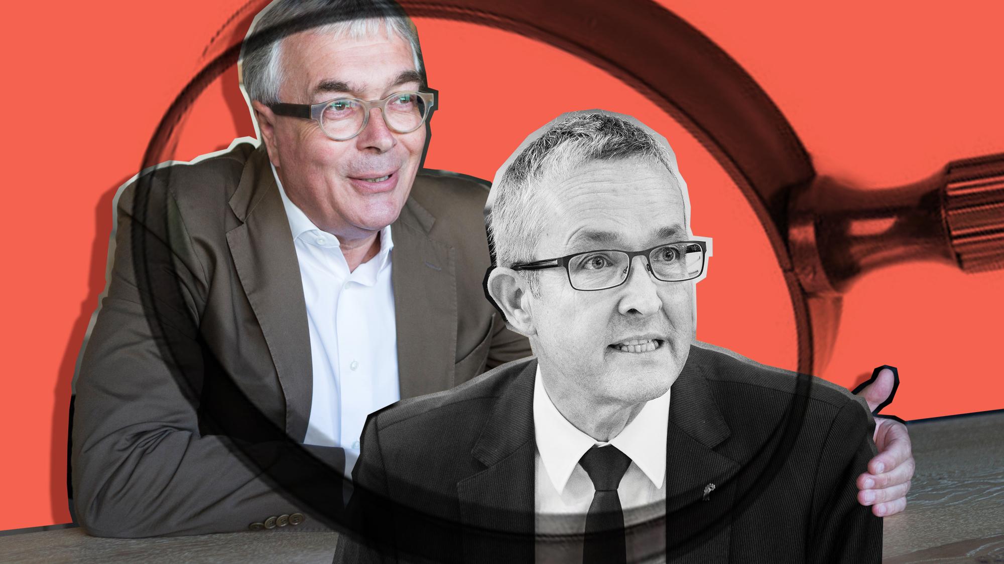 Unerwarteter Beistand: Christoph Bruschtin (SP) verteidigt den Baselbieter Amtskollegen Thomas Weber (SVP).