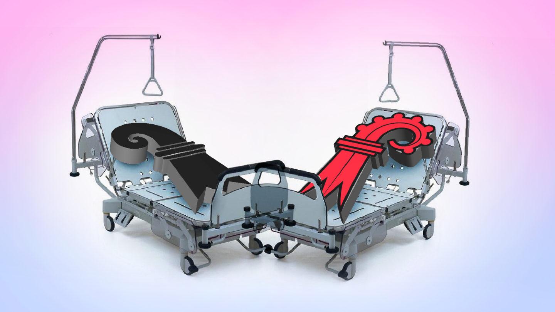 Patient Spitalfusion mit zunehmenden Komplikationen.