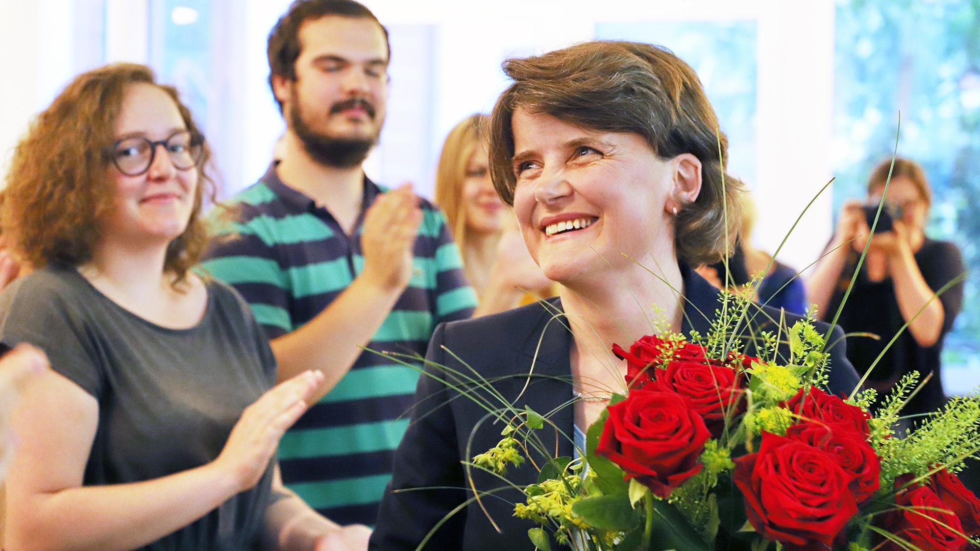 Ihre Kandidatur war unbestritten: Kathrin Schweizer soll neue SP-Regierungsrätin werden.
